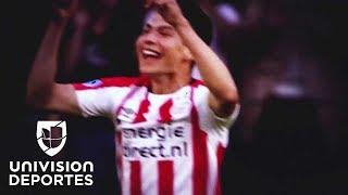 Los mejores momentos de Hirving Lozano en la UEFA Champions League