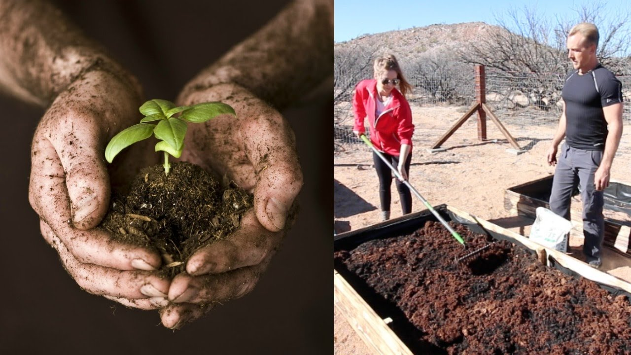 GARDEN LIKE A PRO / BUILDING THE MOST NUTRIENT RICH SOIL