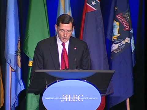 U.S. Senator John Barrasso speaks at ALEC in December 2009 in DC. Part 3