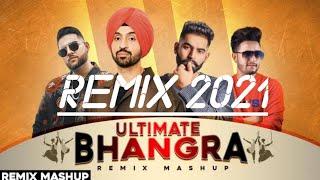 Punjabi New Bhangara Mashup 2021 (Dhol Remix) Lahoria production May Bhangara Mashup