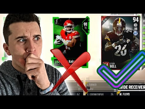 ONLY Drafting Players WHO Will Be On New Team Next Season! Madden 18 Draft