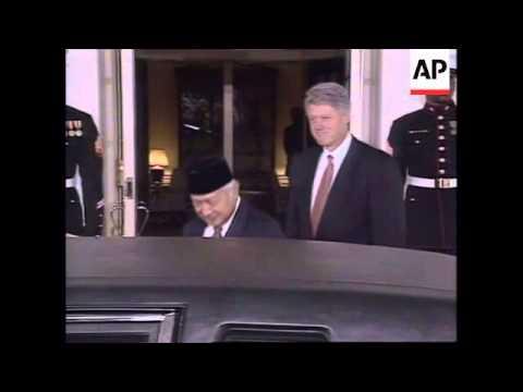 USA: WASHINGTON: INDONESIAN PRESIDENT SUHARTO VISIT