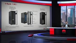 Webinar sobre data center modular em rack da Huawei