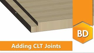 Add and modify CLT joints [Vertex BD for Cross-Laminated Timber]