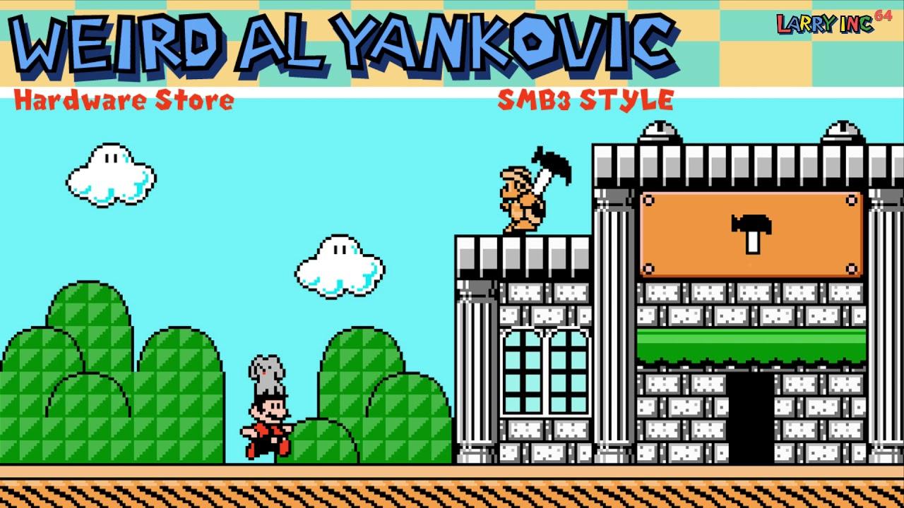 Weird Al Yankovic Hardware Store Super Mario Bros 3 Nes Style