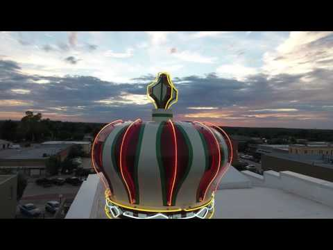 Downtown Bryan Texas Aerial Footage by Studio82 Drone