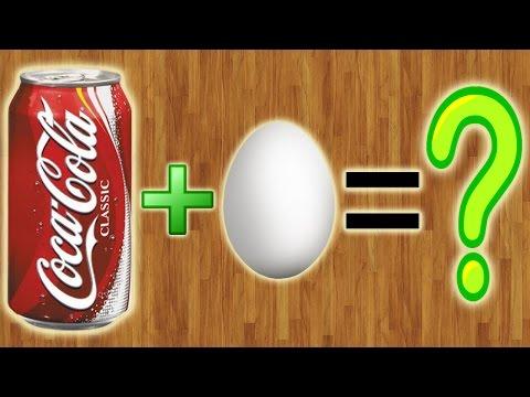 Что будет, если опустить яйцо в Coca-Cola???
