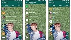 Mengubah Home Screen Whatsapp Menggunakan Foto