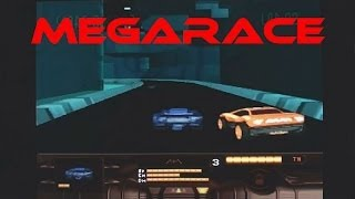 MegaRace playing on the 3DO