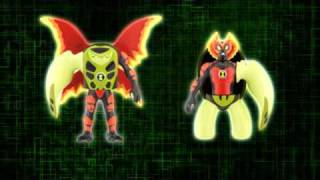 Ben 10 Ultimate Alien Creation Chamber Figures & Transporter