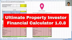 Ultimate Property Investor Financial Calculator 1.0.8 (Updated 29th April 2019)