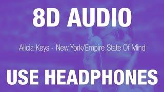 Baixar Alicia Keys -  New York / Empire State Of Mind | 8D AUDIO