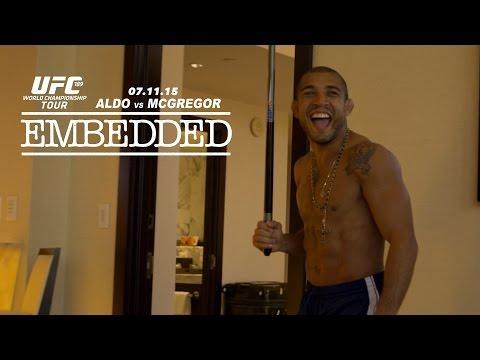 UFC 189 World Championship Tour Embedded: Vlog Series - Episode 2