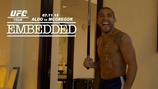 UFC 189 World Championship Tour Embedded: Vlog Series - Episode 2