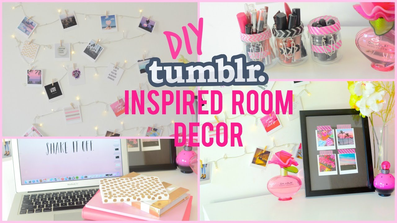 Diy room decor tumblr pinterest best diy bedroom ideas for Pinterest diy decor ideas