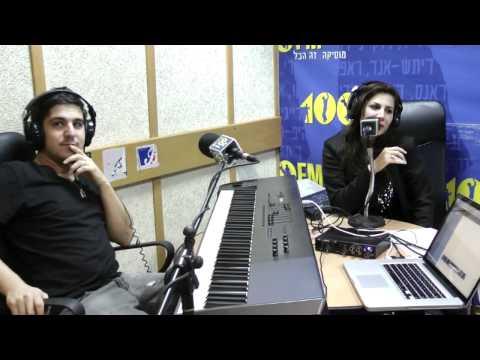 Yinon Yahel Pres. Maya Simantov - So Far Away (Live Acoustic Version) 100FM PART 2