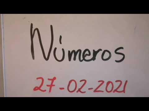 Números para 27/02 /2021 tica, Nica, domi, Honduras y NY