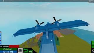 Roblox consolidé PBY-5A Catalina Plane fou