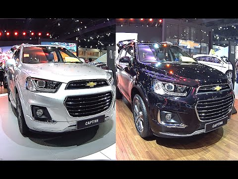 All new Chevrolet Captiva 2016, 2017 2.4L, four cylinder, 167 hp ...