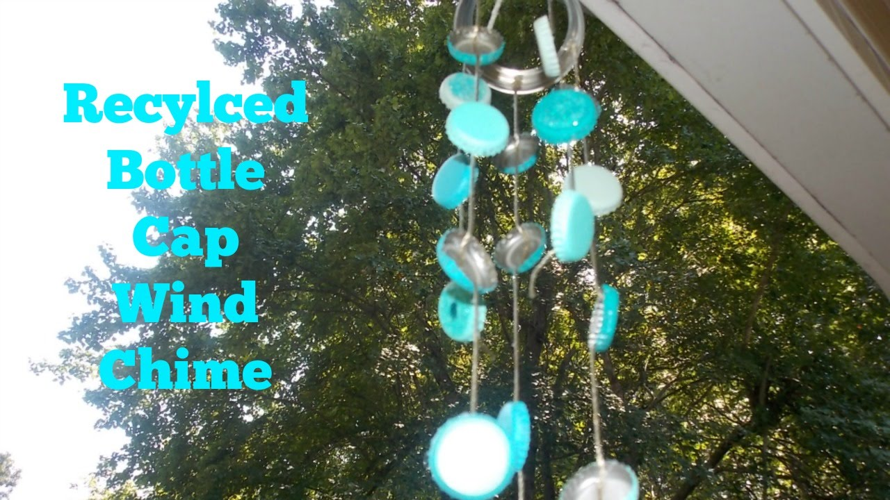 Diy Recyled Bottle Cap Wind Chime You