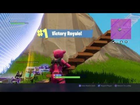 Fortnite (The Pink Bear) Gameplay