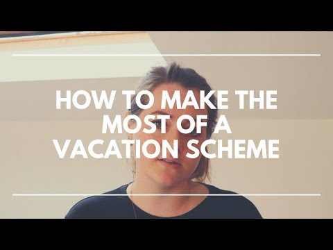 How To Make The Most Of A VACATION SCHEME | LawCareers.Net