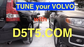 Tune your Volvo with D5T5.COM. Engine optimization DIY.