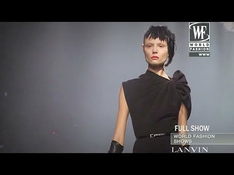 Lanvin Fall/Winter 2009 Full Show | EXCLUSIVE | HQ