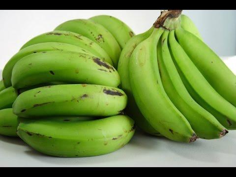 فوائد الموز الاخضر