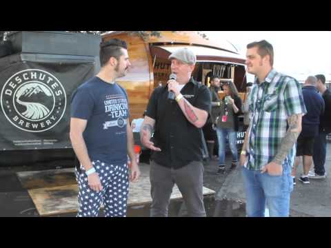 Deschutes Brewery's Woody at Untapped Festival Dallas 2015