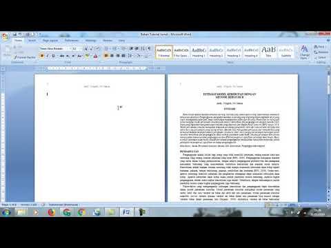 Cara Hapus Halaman Kosong di Microsoft Word.