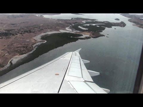 Aircalin A320 Landing Noumea New Caledonia