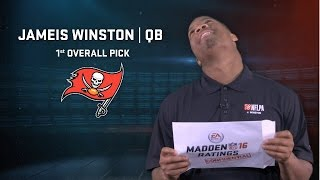 Winston, Mariota & other rookies react to their Madden 16 ratings