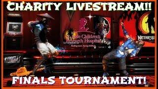 Mortal Kombat 11 Charity Livestream FINALS TOURNAMENT (KOMBAT 4 THE KIDS)