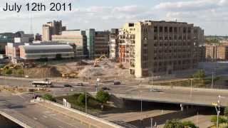 Old Cass Tech High School - Demolition