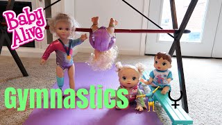BABY ALIVES First Gymnastics Class baby alive videos