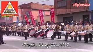 Desfile 16 de julio 2015   Secundaria