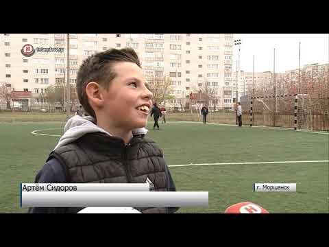 В Моршанске завершается реконструкция футбольного стадиона
