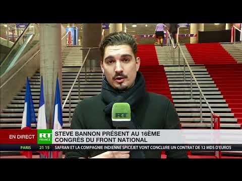 Steve Bannon à RT France, sur les «fake news»: «Les gens ont la capacité d'avoir un bon jugement»