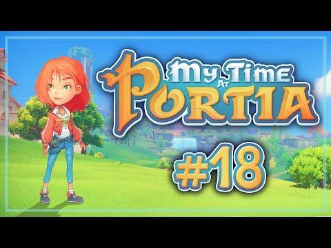 Прохождение My Time At Portia #18 Таинственное исчезновение Попрошайчика