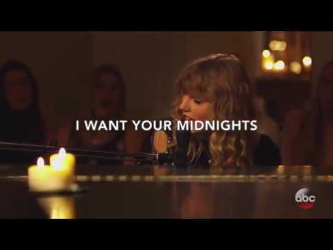 Taylor Swift - New Year's Day [Lyric Video]
