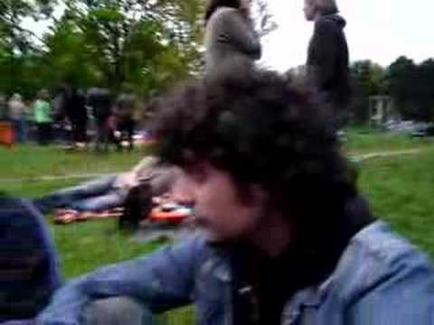 Berlin outdoor party
