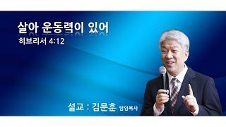 20201025 포도원교회 김문훈목사 히브리서 4장 1…