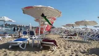 Болгария,Солнечный берег,вечер,пляж,август 2016г(Болгария,Солнечный берег,вечер,пляж,август 2016г. Ветренный,но очень теплый вечер и совершенно сказочное..., 2016-08-12T14:00:03.000Z)
