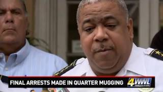 NOPD announces final arrests in French Quarter mugging, beating