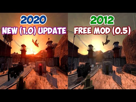 Black Mesa Final 1.0 Release Update (Dynamic Lights,Shadows, New Textures) Comparison 2012 VS 2020