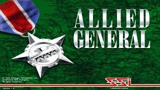 Allied General gameplay (PC Game, 1995)