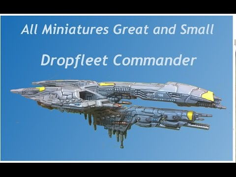 Dropfleet Commander - UCM Saratoga and Santiago review