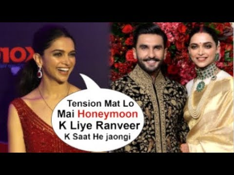 Deepika Padukone's FUNNY Reaction On Going For HONEYMOON With Ranveer Singh After Their Marriage