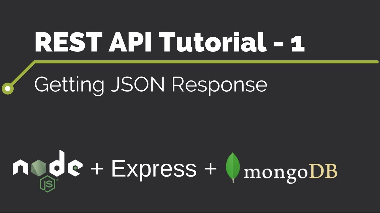 Rest api tutorial 1 getting json response youtube rest api tutorial 1 getting json response baditri Choice Image